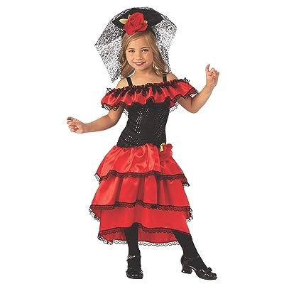 Rubie's Costume Spanish Dancer Girls Child Flamenco Costume: Toys & Games