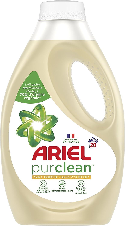 Ariel Pur Clean lavandería líquido 1.1L–Juego de 2