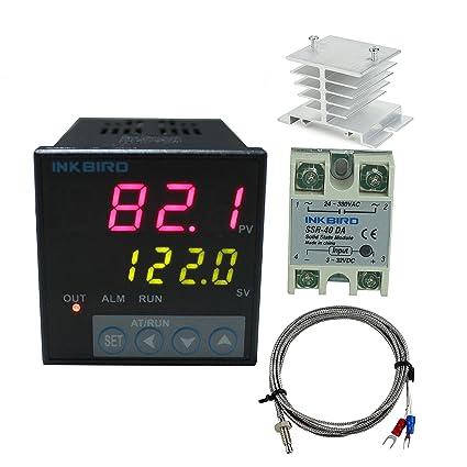 amazon com inkbird f display pid temperature controllers thermostat rh amazon com