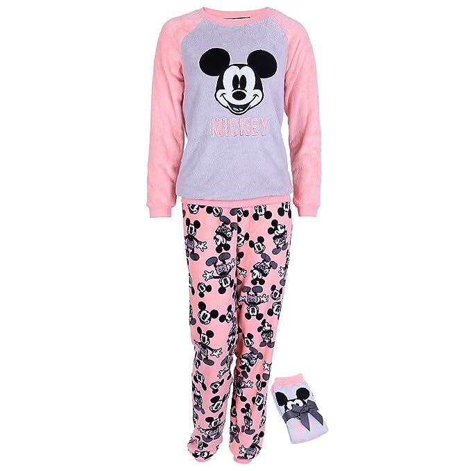 Disney - Mickey Mouse - Pijama - para mujer Naranja naranja