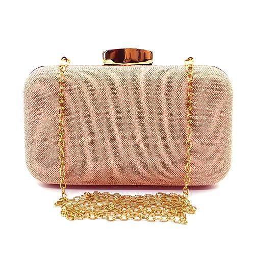 Glitter Evening Clutches Bags Prom Box Clutch