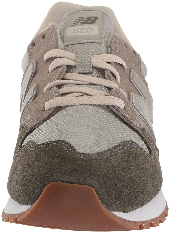 New Balance Women's 520v1 Sneaker B06XX8Z9LK 95 B US|Foliage Green/Urban Gray