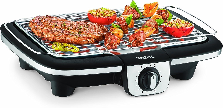 Tefal BG901D Grill électrique, Argent