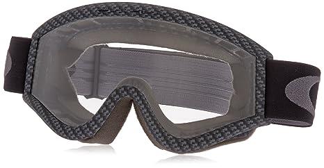 760cdafda7 Oakley L-Frame Graphic Frame MX Goggles (Carbon Fiber Clear Lens Glasses
