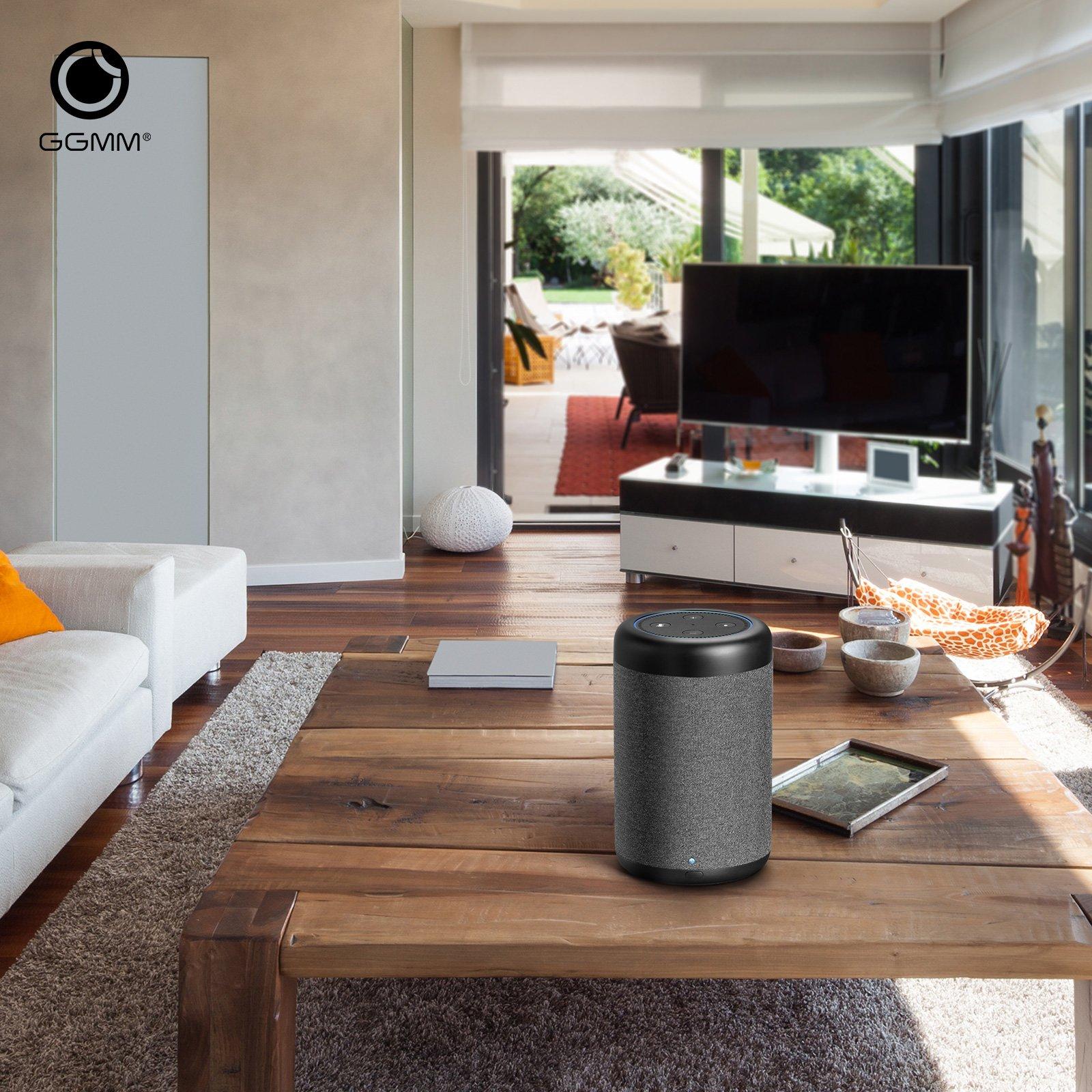 GGMM D6 Portable Speaker for Amazon Echo Dot 2nd Generation, 20W Powerful True 360 Alexa Speakers (DOT SOLD SEPARATELY) by GGMM (Image #7)
