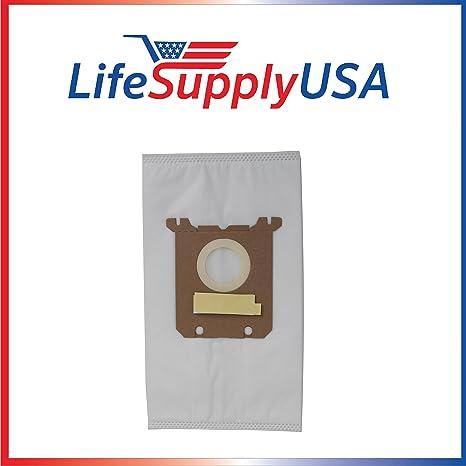 Amazon.com: Paquete de 5 bolsas de aspiradora para Nilfisk ...