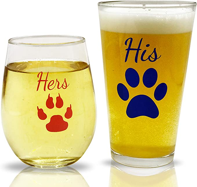 Bride Stemless Wine Glass Wedding Gifts Gift for Couple Gifts for Couples