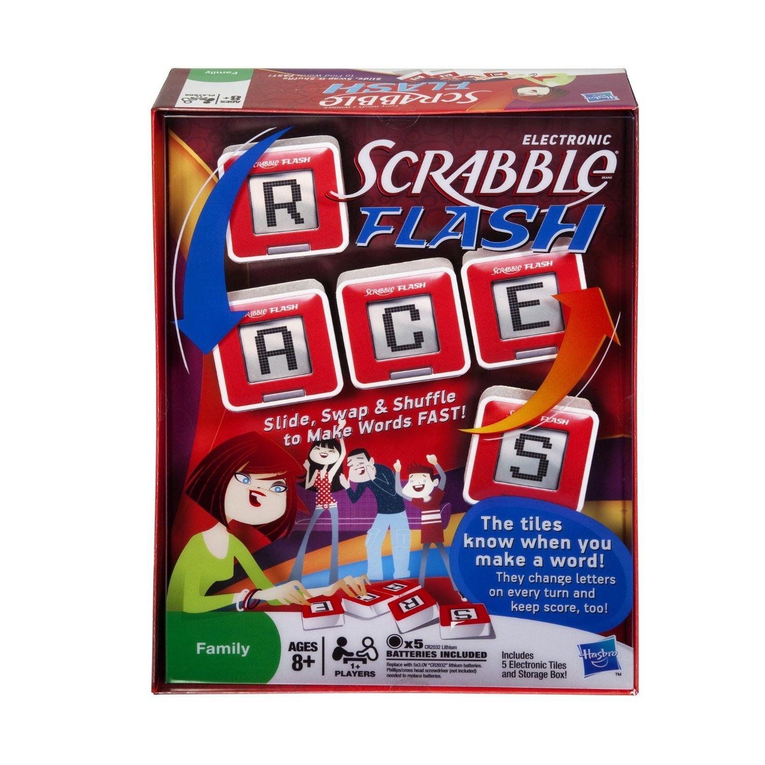 Amazon Scrabble Flash Cubes Value Pack Includes Scrabble Slam