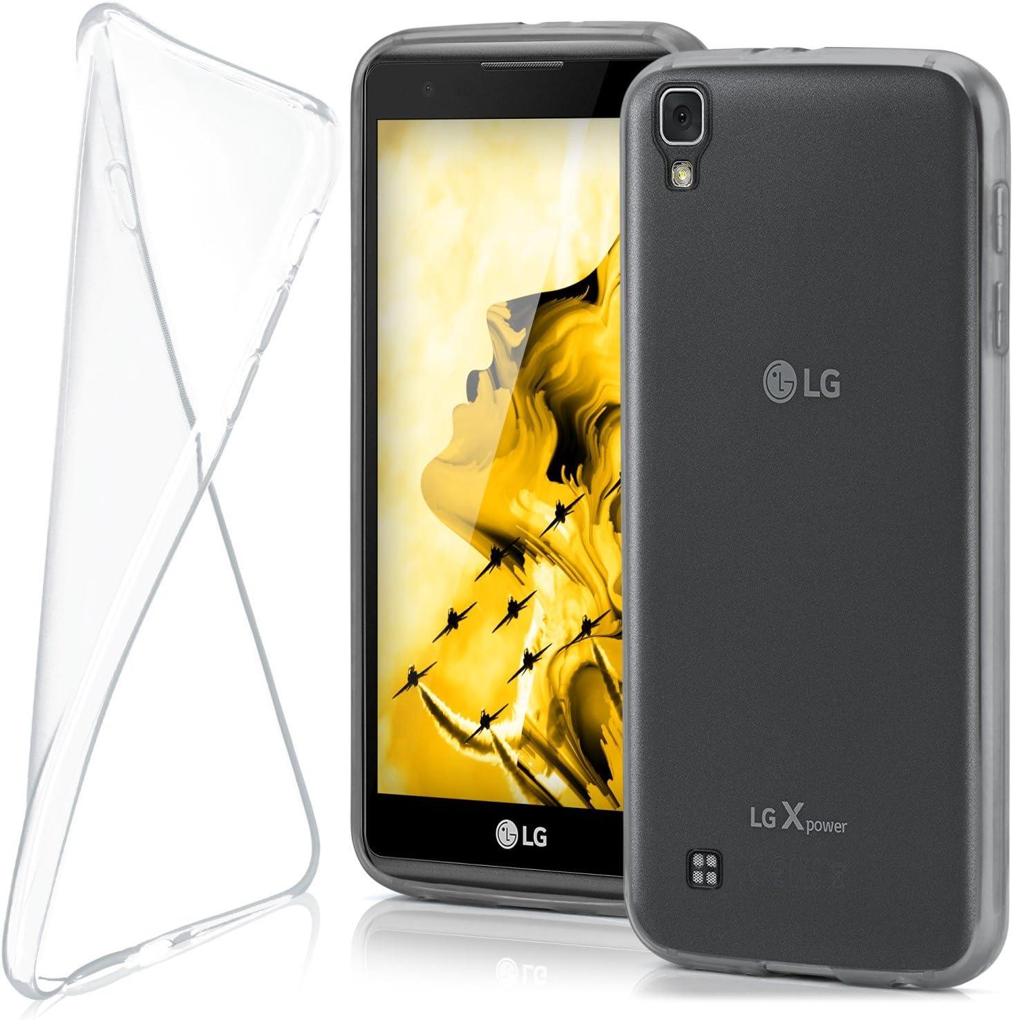 MoEx® Funda [Transparente] Compatible con LG X Power | Ultrafina y ...