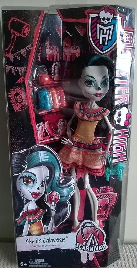Amazon Com Monster High Scarnival Skelita Calaveras Toys Games