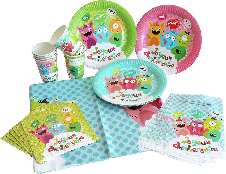 DYNASTRIB Happy Monster - Kit de 25 piezas 2080520, multicolor ...