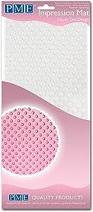 PME Classic Dot Design, Impression Mat, 12 x 6-inch