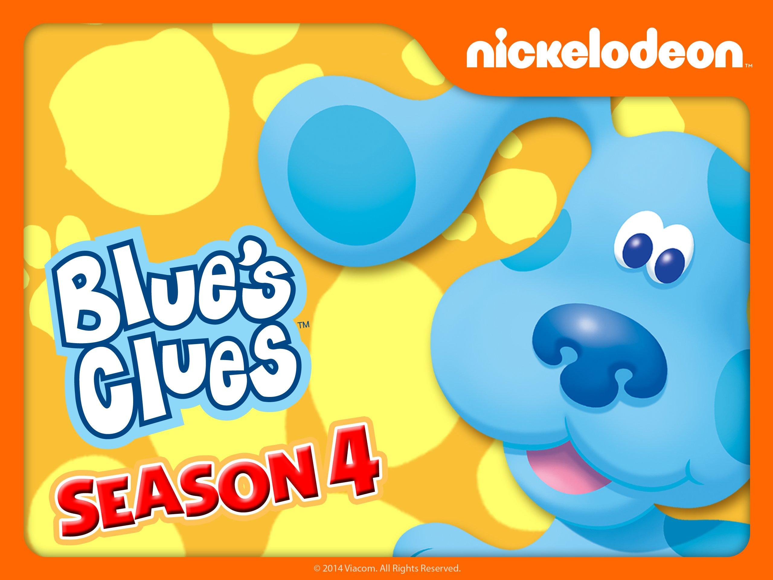 amazon com blue u0027s clues season 4 blue amazon digital services llc