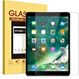 iPad Pro 10.5 Screen Protector - SPARIN Tempered Glass / Apple Pencil Compatible / Case Friendly / 2.5D Round Edge / Scratch Resistant Screen Protector for New iPad Pro 10.5 Inch ( 2017 )