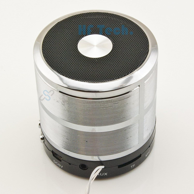 HFTEK® ws887 Mini portátil Bluetooth Speaker – Altavoz portátil inalámbrico Integrado micrófono Wireless Stereo Soundsystem Micro SD: Amazon.es: Electrónica