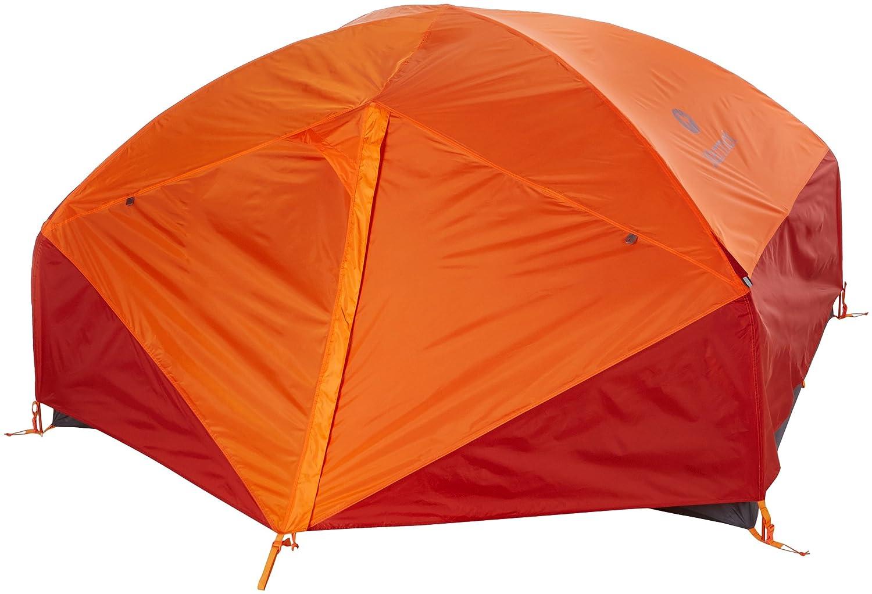 Cinder//Rusted Orange Marmot Limelight 3P Ultraligera para 3 Personas Tienda de campa/ña Trekking peque/ña Totalmente Impermeable Adultos Unisex