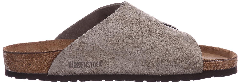 birkenstock boston taupe suede