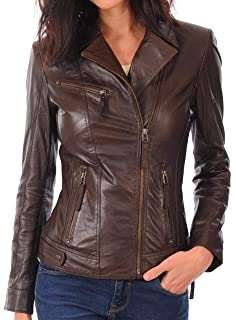 30bd333c580b Womens Leather Jacket Bomber Motorcycle Biker Real Lambskin Leather Jacket  for Womens Collection-03