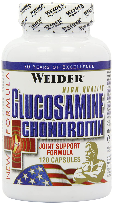 Weider Glucosamine + Chondroitin + MSM 120 Kapseln