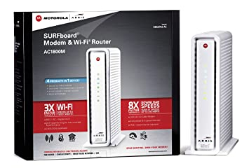 ARRIS SURFboard SBG6782-AC DOCSIS 3.0 Cable Modem and AC1750 Wi-Fi Router
