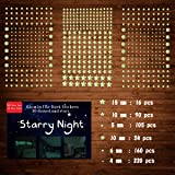 633 PCS Ultra Glow in The Dark Stars Wall Stickers, 3D Adhesive Dots Decor Starry Sky Decor for Kids Bedroom or Birthday…