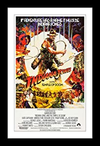 Wallspace 11x17 Framed Movie Poster - Indiana Jones and The Temple of Doom