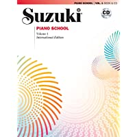 Suzuki Piano School- New International Edition- Book 1- (Book & CD)