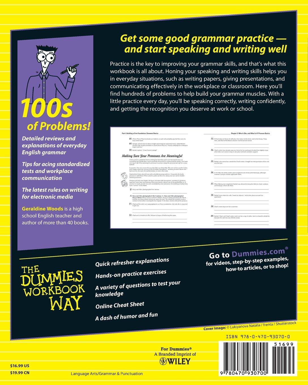 Workbooks english grammar workbook for dummies pdf free download : English Grammar Workbook FD 2e (For Dummies): Amazon.co.uk ...