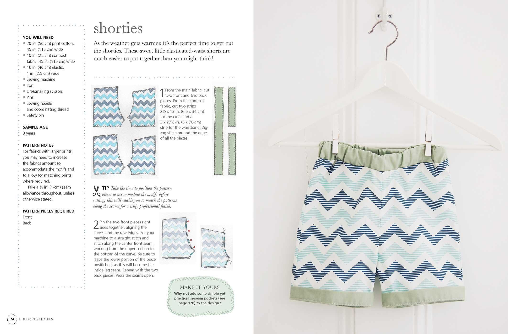 Sewing for Babies and Children: 25 beautiful designs for clothes and ...