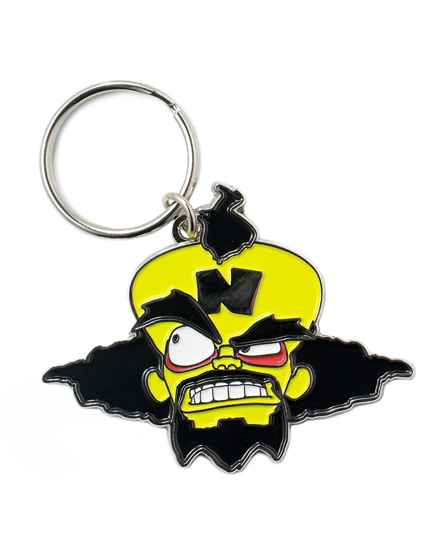 Crash Bandicoot Official Dr Neo Cortex Keyring/Keychain ...