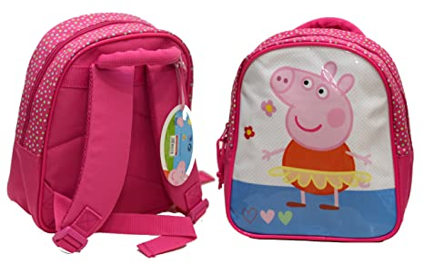 ebf9def5db Zaino Asilo Mini Rosa Peppa Pig: Amazon.it: Giochi e giocattoli