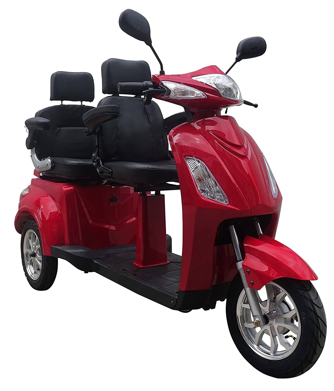 Senioren Mobil'Two', Elektroroller, E-Scooter, Elektrorollstuhl Rot Elektroroller-Futura Senior Two Rot