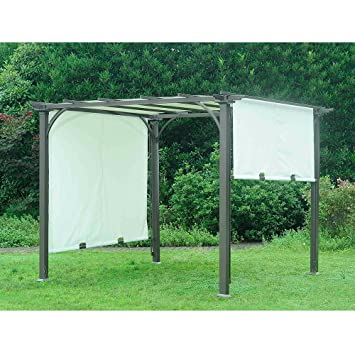 Sunjoy Replacement Canopy for 8x8ft Adjustable Sh ade Pergola  sc 1 st  Amazon.com & Amazon.com : Sunjoy Replacement Canopy for 8x8ft Adjustable Sh ade ...