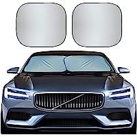 EcoNour Premium Car Windshield Sunshade-Universal Fit for Car, SUV, Van,Truck-. 210T Nylon Material- Heat and Sun…