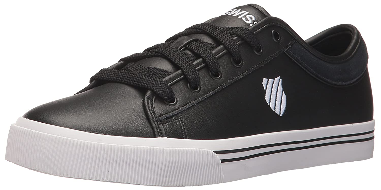 K-Swiss Men's Bridgeport 2 Fashion Sneaker B01N39N4LC 13 D(M) US|Black/White