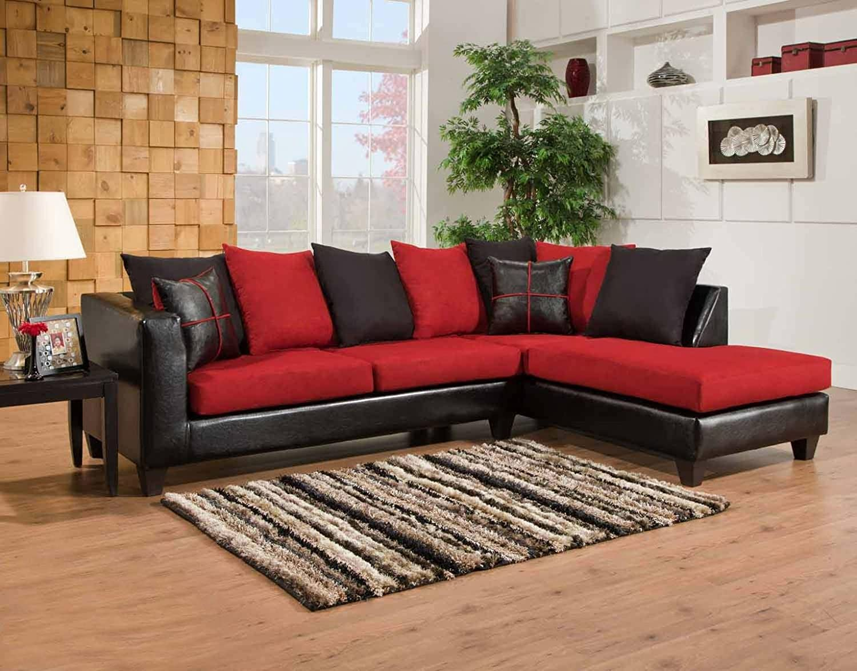 Amazon Chelsea Home Furniture Mu 2 Piece Sectional Jefferson
