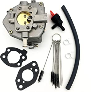 iRomehony Carburetor Replacement for Briggs and Stratton 303442-1012-A1 845906 844041 844988 844039 305442 305445, with Carbon Dirt Jet Cleaner Tool Kit & Fuel Filter Mounting Gasket