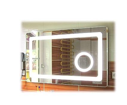 Sbc Badspiegel Mit Led Beleuchtung Und Integriertem 5x