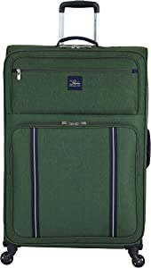 """Skyway Kennewick 29"""" Spinner Upright Suitcase, Cypress Green, One Size"""