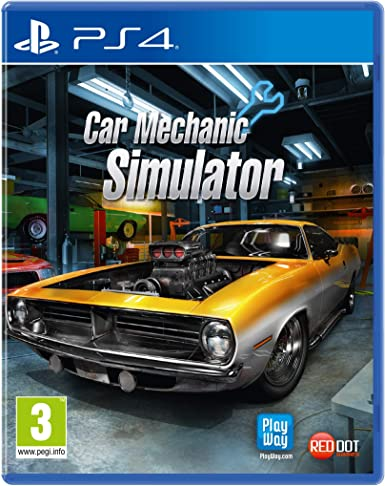 Koch Media Car Mechanic Simulator, PS4 vídeo - Juego (PS4 ...
