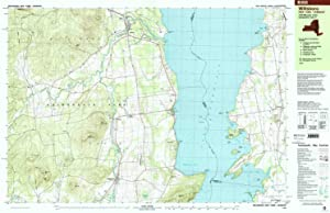 YellowMaps Willsboro NY topo map, 1:25000 Scale, 7.5 X 15 Minute, Historical, 1999, Updated 2000, 24.1 x 37.5 in