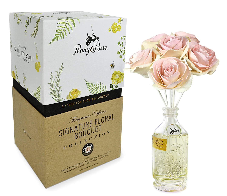Penny & Rose Blush ローズフローラルオイルディフューザー ホームフレグランスの香り サマータイムスピリッツ B07KCNLFXN