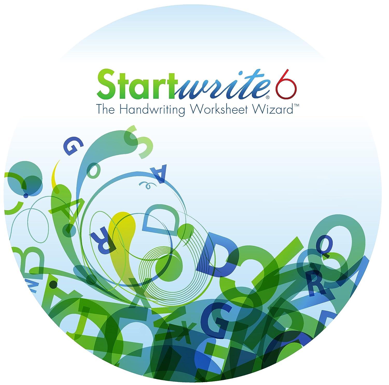 Amazon StartWrite 60 Handwriting Worksheet Software Windows – Math Worksheet Software