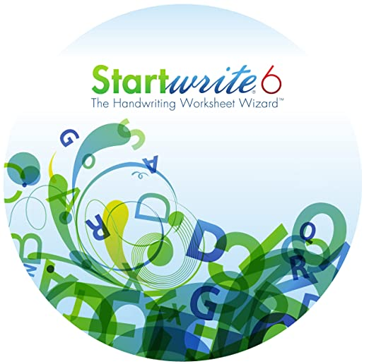 Amazon.com: StartWrite 6.0 Handwriting Worksheet Software (Windows)