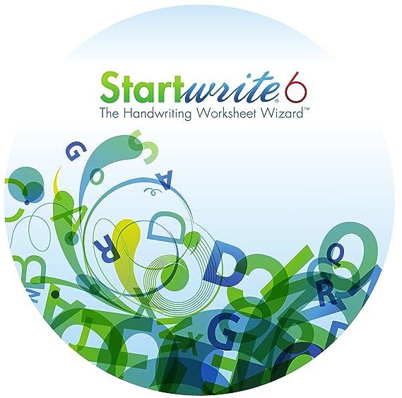 StartWrite 6.0 Handwriting Worksheet Software (Windows)