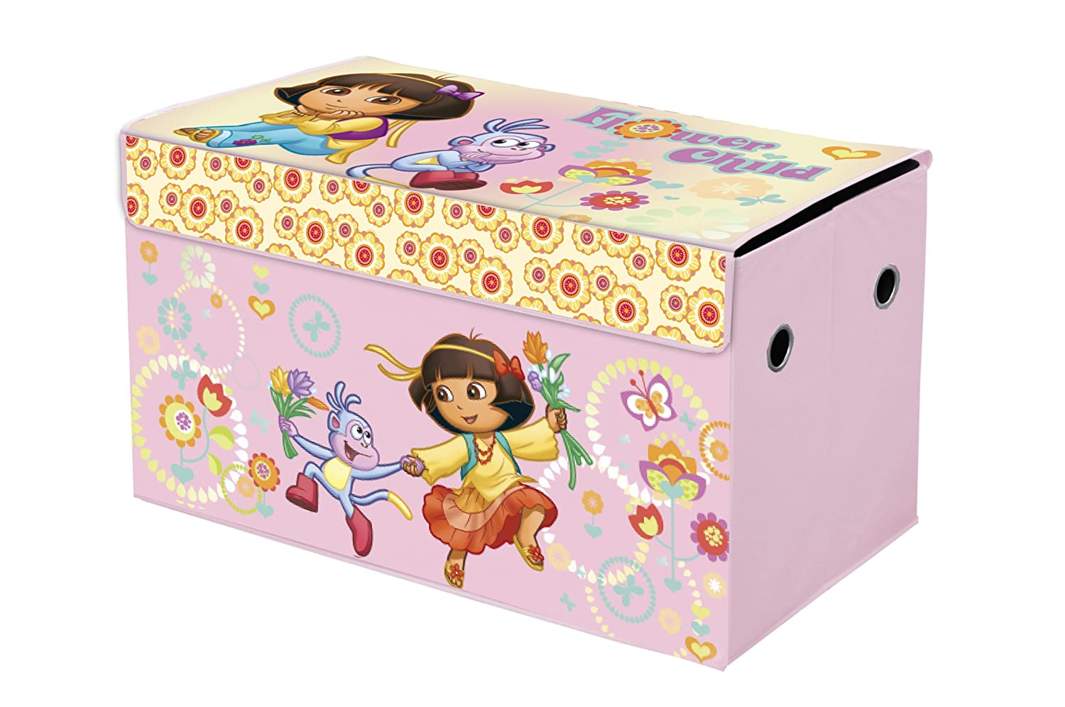 Lovely Amazon.com: Nickelodeon Dora The Explorer Collapsible Storage Trunk: Toys U0026  Games
