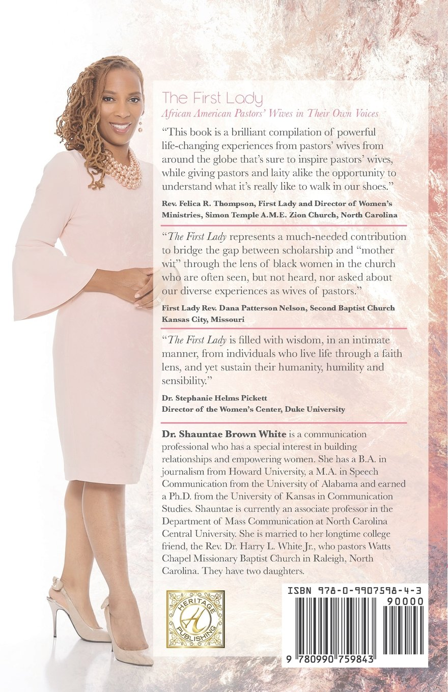 The First Lady: African American Pastors' Wives in Their Own