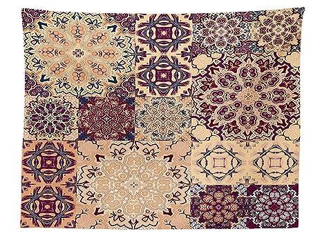 Vipsung moroccan decor tovaglia grande set di design vintage