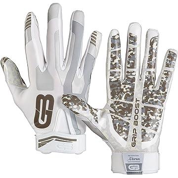Grip Boost Stealth Football Gloves