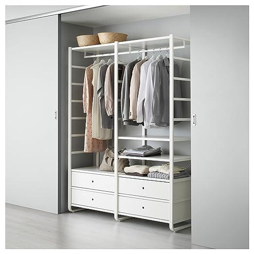 ZigZag Trading Ltd IKEA elvarli - 2 secciones blanco: Amazon ...